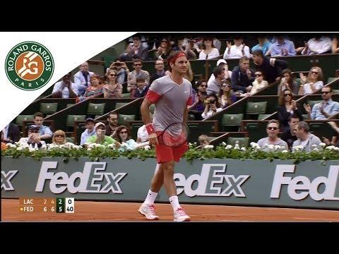 Lacko v. Federer 2014 French Open Men's R1 Highlights