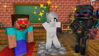 Monster School : BUILD BATTLE CHALLENGE - Minecraft Animation