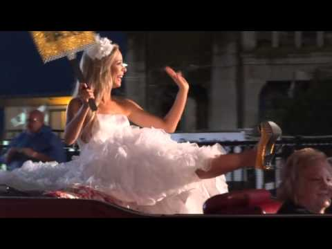 Show Us Your Shoes Parade - Miss America winner Kira Kazantsev