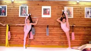 Escuela Sudamericana de Ballet-9th part-Ballet flexibility-Stretching exercises-Ballet class-