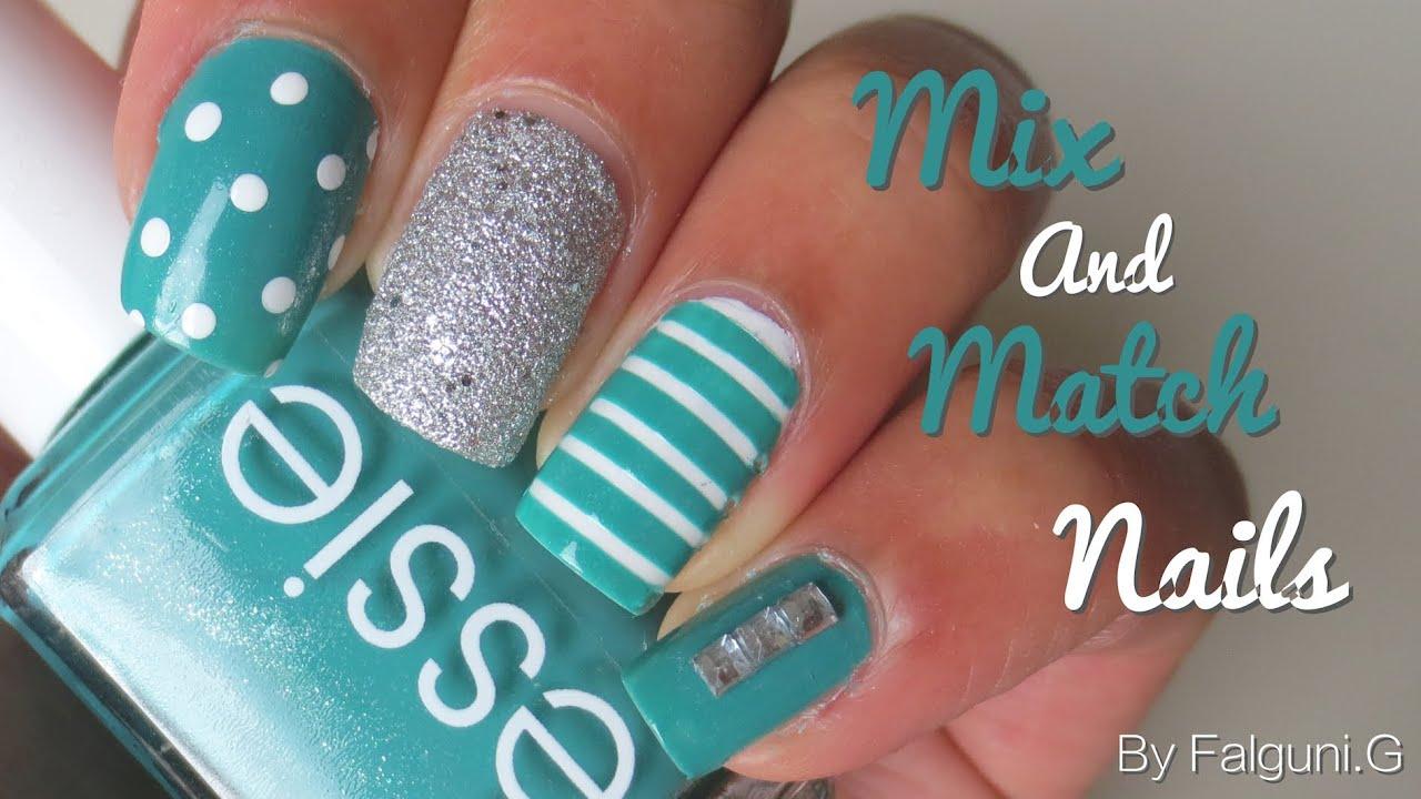 Mix And Match Nail Art
