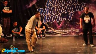 Crazy Dancing vol.1 Poppin Final Hoan vs Franqey