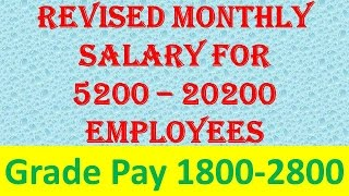 download lagu Know Your Revised Monthly Salary As Per 7th Pay gratis