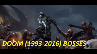 DOOM ALL BOSSES (1993 -  2016)