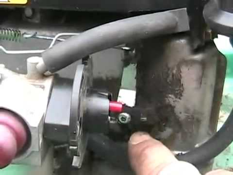 how to tecumseh lawnmower speed and governor adjustments - small engine Davidsfarmison[bliptv]now