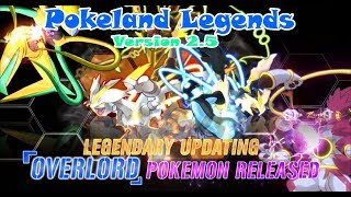 Review Version 2.5 Pokeland Legends-Overlord (Lord of the Rings) Pokemon Reincarnation- Support