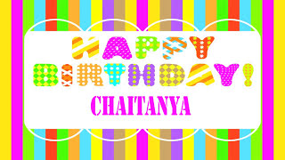 Chaitanya Wishes & Mensajes - Happy Birthday