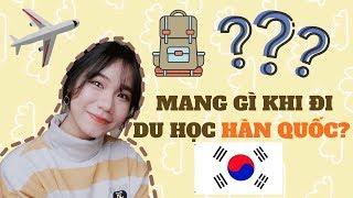 MANG GÌ KHI ĐI DU HỌC HÀN QUỐC?? + Lời nhắn nho nhỏ| DU HỌC SINH HÀN QUỐC ♡ Rin Go