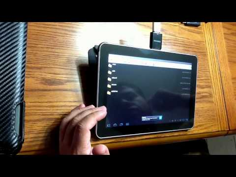 Samsung Galaxy Tab 10.1 USB Adapter Review