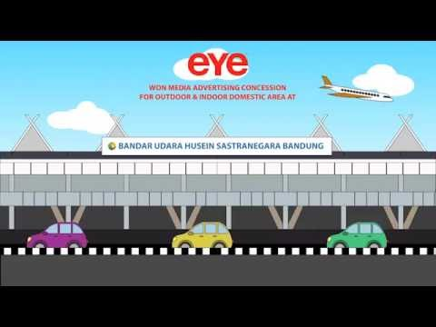 Husein Sastranegara International Airport by EYE Indonesia
