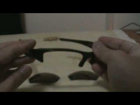 Oakley Flak Jacket Lens Installation Demo