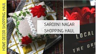 Sarojini Nagar  Market Haul | Indian Home Decor Haul | Budget Home Decor (Best home decor shops )