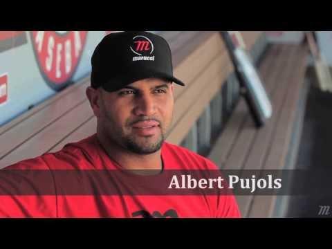 Marucci Wood Baseball Bats - Jose Bautista, Albert Pujols, Chase Utley, Andrew McCutchen