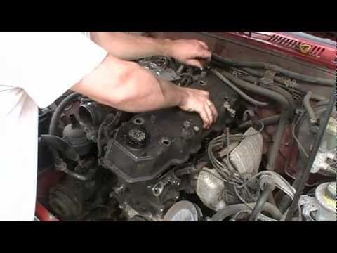 REPLACE TIMING CHAIN 1993 TOYOTA 4RUNNER 22RE ENGINE I4 Part 2