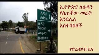 Ethiopia denies land giveaways to Sudan