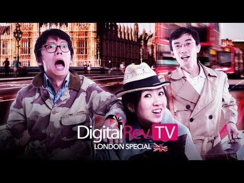 DigitalRev TV - London Special (Feat. 35mm vs. 50mm, Fuji X100S plus AnalogRev)