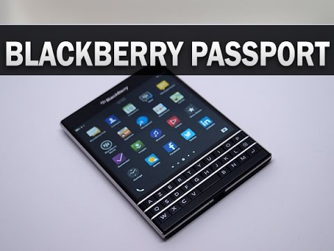 BlackBerry Passport, prise en main - par Test-Mobile.fr