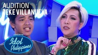 Zeke Villanueva - Hanggang Kailan | Idol Philippines Auditions 2019