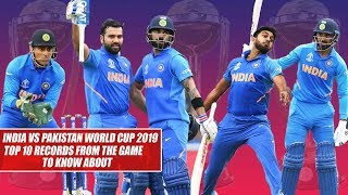 India vs Pakistan World Cup 2019: Top 10 Records From The Game To Know About