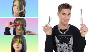 Hairdressers Guide To Cutting Your Own Bangs And Not Ruining Them