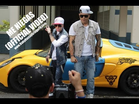 Baby Rasta y Gringo - Me Niegas (Official Video) 2013 klip izle