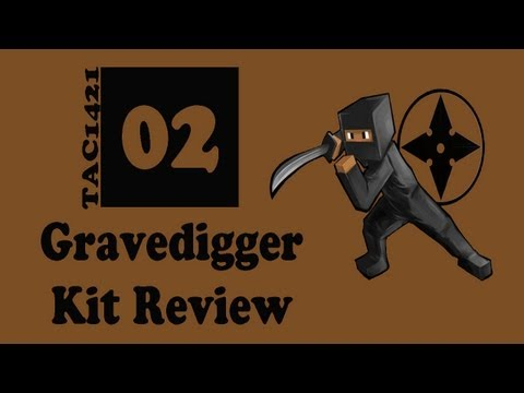 MCPVP Kit Review   #2   GRAVEDIGGER   Minecraft Hunger Games