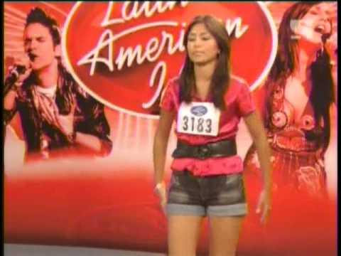 Latin American Idol 2008-Nicole Pillman