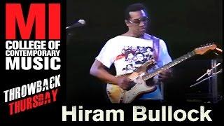 Hiram Bullock - Musicians Institute(MI)がMIにて行われた40分のライブ映像を公開 thm Music info Clip