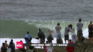 Time Tunnel  Damien Hobgood  Quiksilver Pro Gold Coast