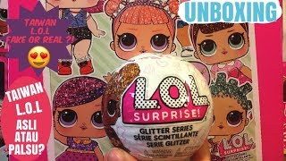 L.O.L SURPRISE GLITTER SERIES # IT