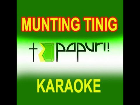 Munting Tinig Minus-one video