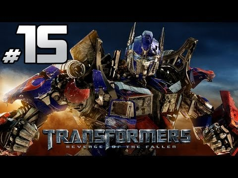 Transformers Revenge Of The Fallen - Autobot Campaign - Part 15 - Sam Died, My Bad.