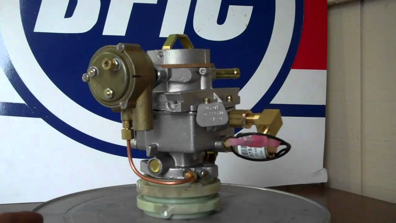 Zenith Carburetor Model 33 With Electric Choke