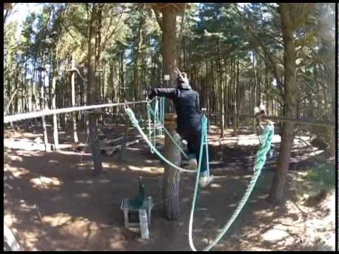 Adrenalin Forest, Christchurch - High wire course adventure park