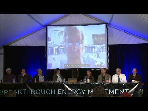 Panel Discussion #01 at the Breakthrough Energy Movement Conference 2013 Boulder Colorado