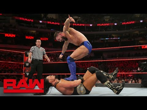 The Bálor Club vs. The Miz & The Miztourage: Raw, March 19, 2018 thumbnail