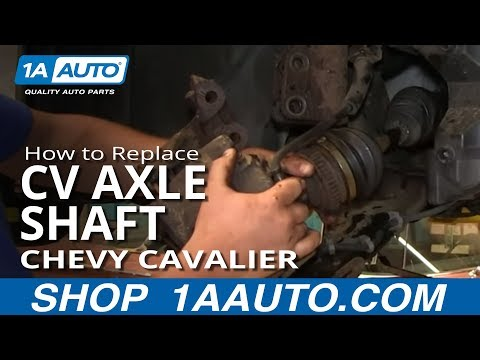 How To Install Replace Front Axle CV Joint 1995-05 Chevy Cavailer Pontiac Sunfir