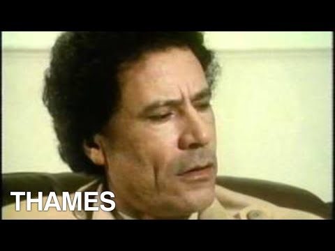 Libya - Muammar  Gaddafi Interview - Tv Eye video