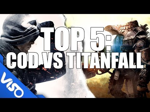 Top 5: Differences Between Titanfall and Call of Duty
