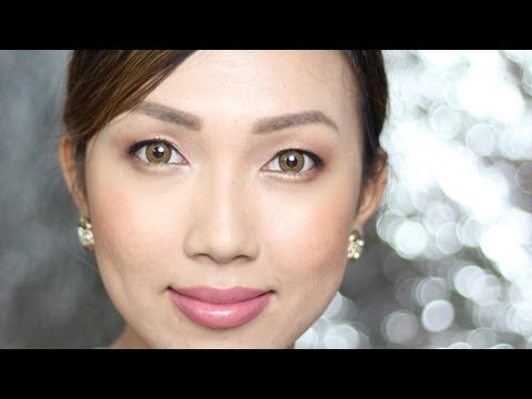Dainty Pinay Natural Bridal Makeup | All Filipino Brands Used!  clairbellatv