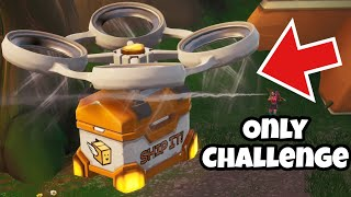 FORTNITE BATTLE ROYALE SUPPLY DRONE ONLY CHALLENGE
