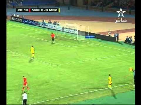 Match Maroc 4 - 0 Mozambique - part 2