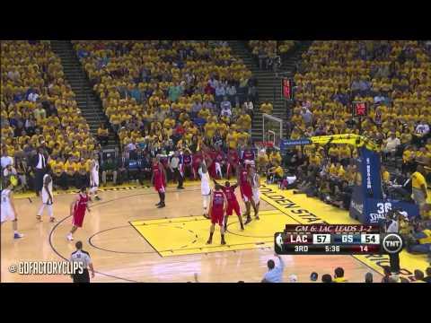 Andre Iguodala vs Matt Barnes Full Duel Highlights 2014 Playoffs West R1G6 - Warriors vs Clippers