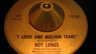 "hot lungs - ""i cried one million tears"" norfolk, virginia psych funk 45 on pe pe!"