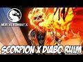 Mortal Kombat X A História - Scorpion contra o DIABO RUIM
