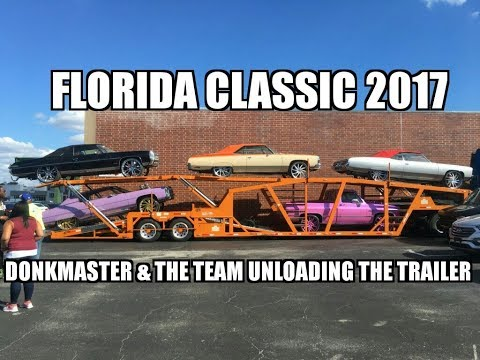 Florida Classic 2017--Orlando, FL: Donkmaster & the team unloading the trailer!