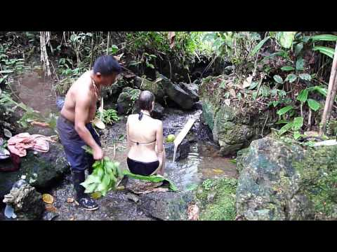 Cleansing ritual before ayahuasca ceremony