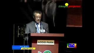 Dr. Tedros's Speech at the Diaspora Day Opening Ceremony, Millennium Hall