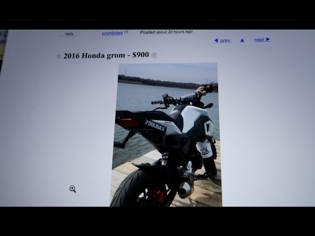 Scammer Tries Selling My Bike on Craigslist Lets give him a call