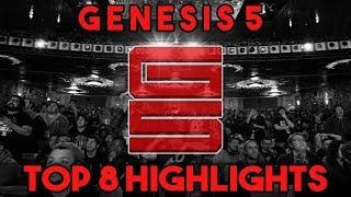 GENESIS 5 TOP 8 SUPER SMASH BROS MELEE HIGHLIGHTS || A NEW GOD IS BORN